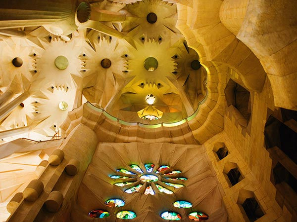 interieur sagrada familia